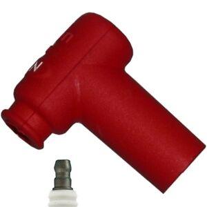 NGK LB05EMH-R Spark Plug Cap / Resistor Cover (Red) 90º (8160)
