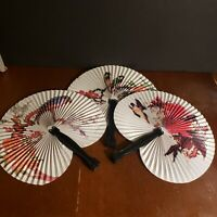 Paper Fans Set of 3 China