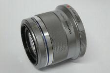 Olympus M.Zuiko Digital 1,8 / 45 mm  Objektiv silber gebraucht