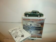 TOGI 8/65 ALFA ROMEO GIULIA SPRINT GT - GREEN METALLIC 1:23 - VERY GOOD IN BOX