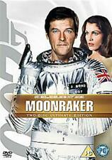 MOONRAKER ULTIMATE EDITION ROGER MOORE AS JAMES BOND MGM 2 DISC DVD NEW & SEALED