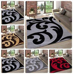 New (Sophia) small Large Rugs Living Room Carpet Mat Rug Runner Modern Bedroom