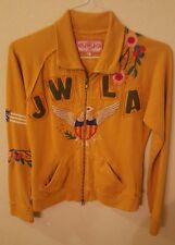 JWLA Full Zip Track Sweatshirt  Sz Small