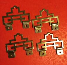4pcs Chinese Metal PROSPERITY ART Picture Wall Scroll Hangers
