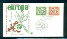 Germany #934-35 (Mi 483-84) 1965 Europa  unaddressed cachet FDC