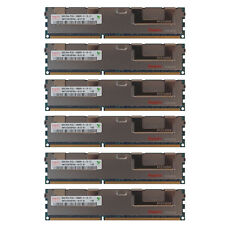 48GB Kit 6x 8GB HP Proliant ML370 SL160S SL170S DL180 DL170H G6 Memory Ram