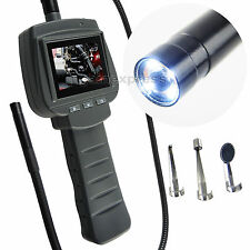 "2.4"" LCD Inspection Borescope Car Engine Pipe Tube 9mm Camera Endoscope 1m Cable"