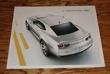 2011 Chevrolet Camaro Deluxe Sales Brochure 11 Chevy