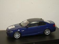 BMW M3 Coupe IAA 2007 - Minichamps 1:43 in Box *37418
