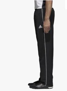 Adidas Training Pants Trousers Straight Leg Modern Loose Fit Black. XL. BNWT