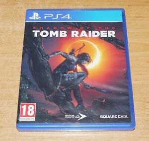 Shadow of the Tomb raider Game for Sony PS4 Playstation 4