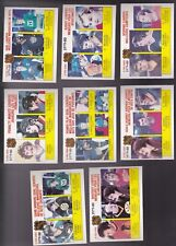 1980 OPC LOT of 8 NHL LEADERS CARDS NM o-pee-chee GRETZKY LAFLEUR DIONNE ESPO