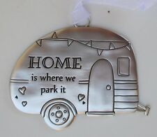aa Home is where we park it LIFE IS A BEAUTIFUL RIDE ORNAMENT Ganz