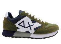 Scarpe da uomo SUN 68 JAKI Z31111 sneakers basse casual sportive comode militare