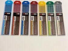 TIG Welding Tungsten Electrode 10pk 1/16,3/32,1/8,5/32,3/16,1/4 by 7