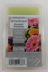 Ashland Spring Bouquet Scented Wax Melts Spring Printemps 2.5 Oz