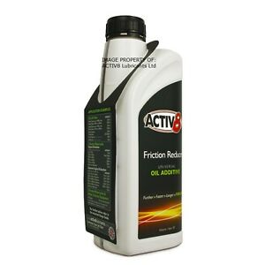 1Ltr - ACTIV8 Oil Additive for Engine / Gearbox / Differential - Petrol / Diesel