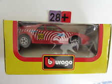 BBURAGO DIE CAST METAL MODEL W/ PLASTIC PARTS BMW MI BASF SCALE 1:43