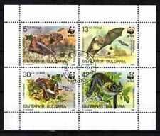 Bulgarie 1989 Chauves-souris (55) Yvert n° 3231 à 3234 oblitéré used