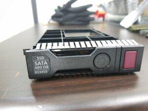 """New bulk HP 480GB SATA 6G MU LFF SCC 3.5"""" SSD 832417-B21 832455-001 G9/10"""
