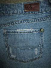 BULLHEAD Venice Skinny 100% Cotton Destroyed Denim Jeans Womens Size 1 Reg x 29