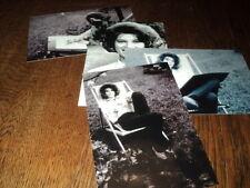 SHEILA LOT DE PHOTOS FORMAT 10*15 N&B - THEME 026 CHAISE LONGUE - 4 PRISES