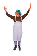 CHOCOLATE #FACTORY WORKER ADULT FANCY DRESS ONE SIZE COSTUME COMPLETE OUTFIT