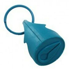 Nixon Icon Stamp Rubber Key Chain (Turquoise) 8290250073