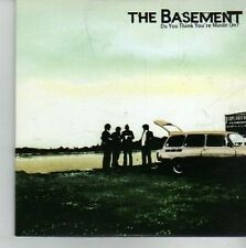 (CV585) The Basement, Do You Think You're Moving On - 2002 DJ CD