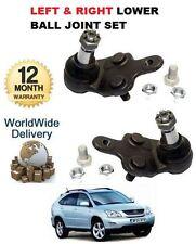 Para Lexus RX300 Rx400 350 03 & gt izquierdo y derecho de suspensión inferior Wishbone rótula