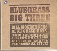 BLUEGRASS BIG THREE - 3 CD BOX SET - BILL MONROE & MORE (country western Music)