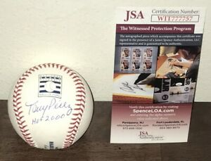 Tony Perez Signed Autographed Hall Of Fame Baseball Cincinnati Reds HOF 2000 JSA