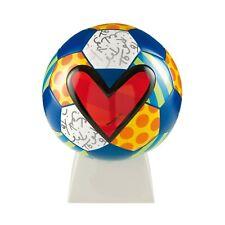 Romero Britto Sculpture: Guarani Soccer Ball ** NEW ** Original Britto Package