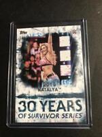 2018 Topps WWE Undisputed 30 Years of Survivor Series #SS21 Natalya 19/25