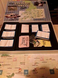 1989 vintage Treasure Hunt Board Game complete vgc