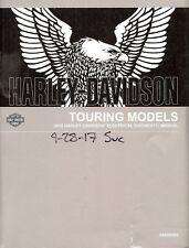 2018 HARLEY-DAVIDSON TOURING ELECTRICAL DIAGNOSTIC MANUAL-FLHR FLHX FLHTK FLHTCU