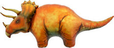"TRICERATOPS Dinosaur Balloon 50"" Foil Mylar Dino Jurassic Park Party Supplies"