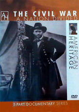 THE CIVIL WAR A Nation Divided New-Sealed American Heritage MiniSeries Lincoln