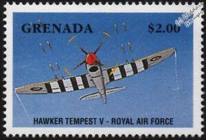 WWII RAF Hawker TEMPEST Mk.V Fighter Aircraft Stamp