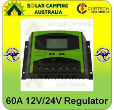 NEW 60Amp 12V/24V LCD Solar Charge Controller Regulator 60A Reg