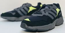 Adidas Original Yung-96 Carbon Grey Solar Yellow F97190 Men's Size 11 YEEZY STL