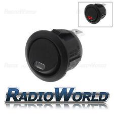 Red LED Round Momentary Rocker Switch Car dash light ON/OFF 12v