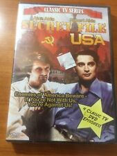 Secret File USA (DVD) Alan Alda, Robert Alda...4 Classic Episodes...