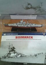 Deagostini Battleships Model Collection Bismarck Boxed Excellent