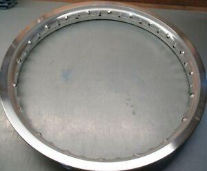"""BMW Airhead Aluminum Front Wheel Rim 1.85x19"""" Disc Brake r90s r90/6 r75/6 r100rs"""