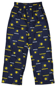 Outerstuff NBA Youth Boys Indiana Pacers Pajama Pants, Navy