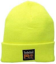 98b7e85f Licensed Timberland Pro Series Cuffed Safety Yellow Beanie Hat Last Ones CR