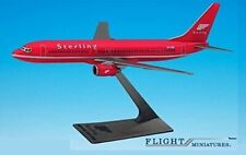 Flight Miniatures Sterling Airlines European Boeing 737-800 1:200 Scale RED