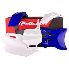 Polisport Yamaha MX Kit De Plástico-YZ85 02-14 (13-14 OEM con Blanco Guardabarros Trasero)