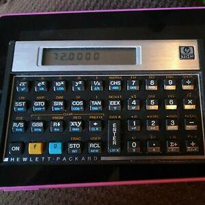 HP 15C Hewlett Packard Calculator in Excellent Condition